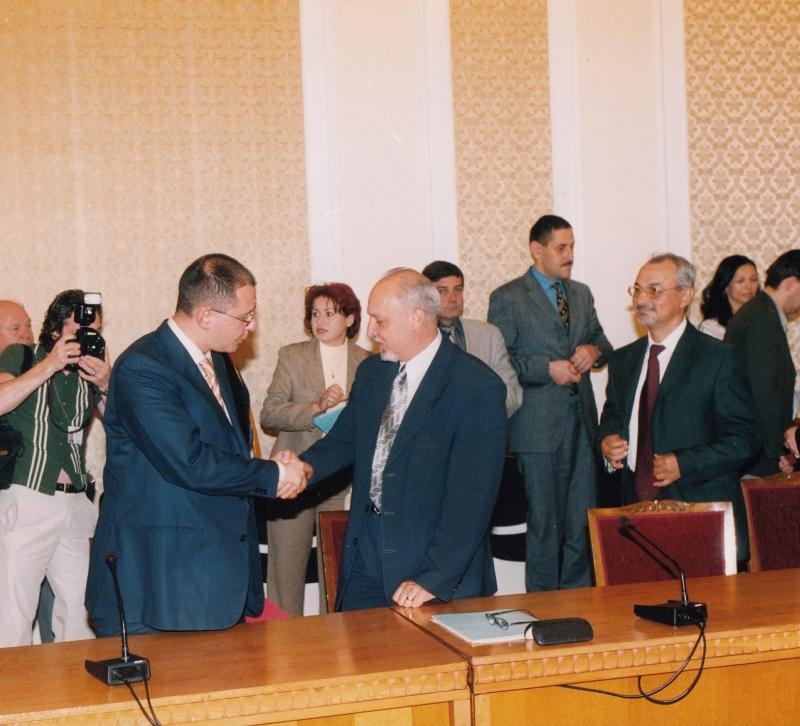 НС Станимир Илчев и Доган-2
