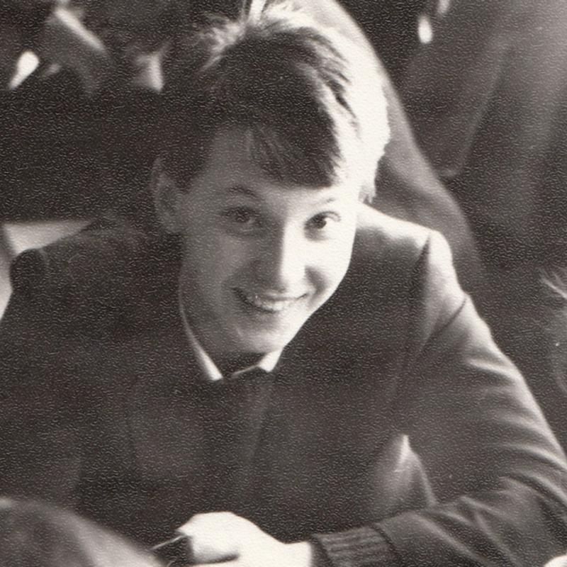 1983-84 София последна година гимназия