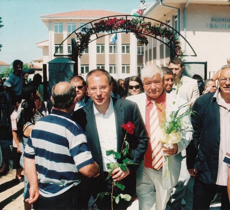 2009.05 Откриване на нова сграда в основно училище в Рогош-1