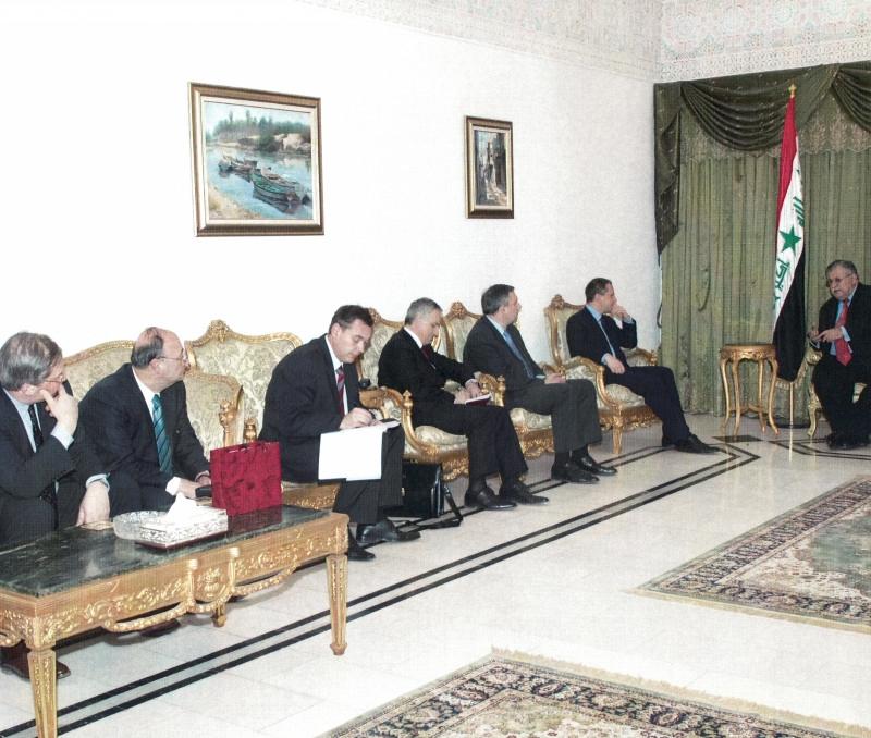 С Джалал Талабани президент на Ирак