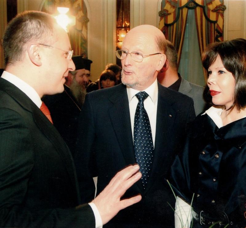 С Княгиня Калина и Симеон Сакскобургготски