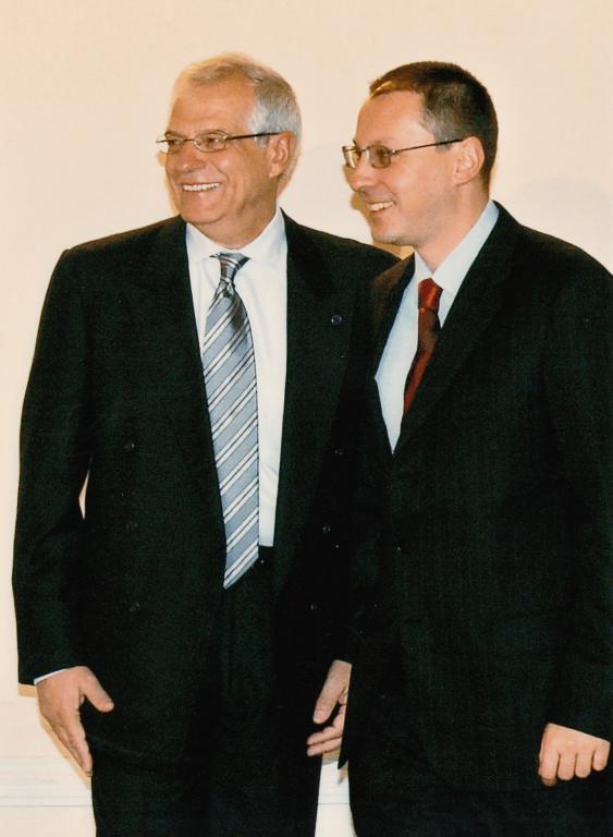 2006 с Жозеф Борел президент на ЕП-2