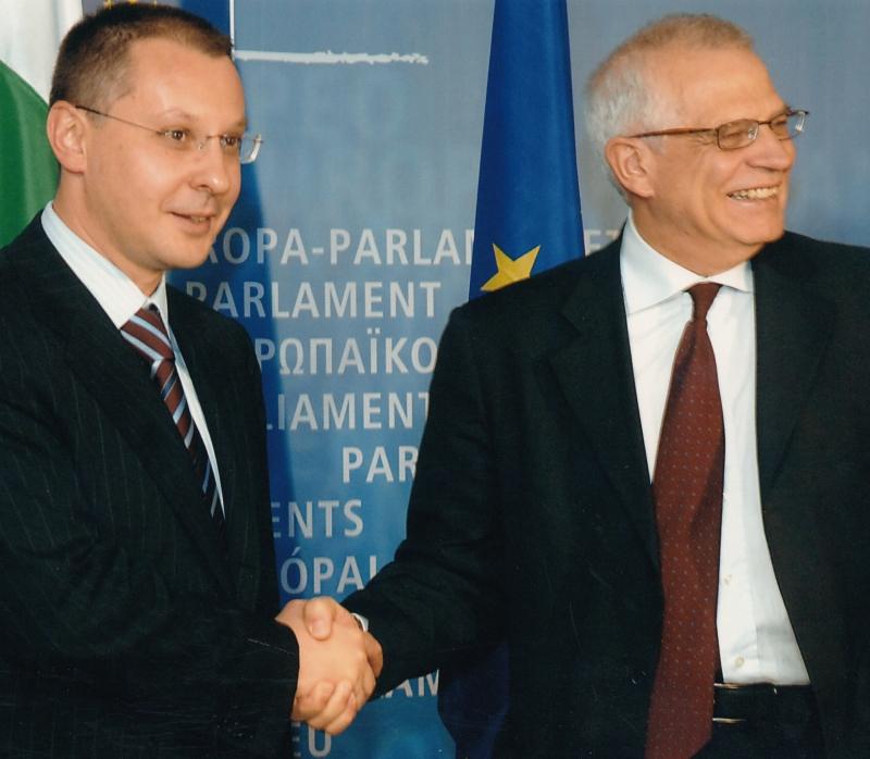 2006 с Жозеф Борел президент на ЕП