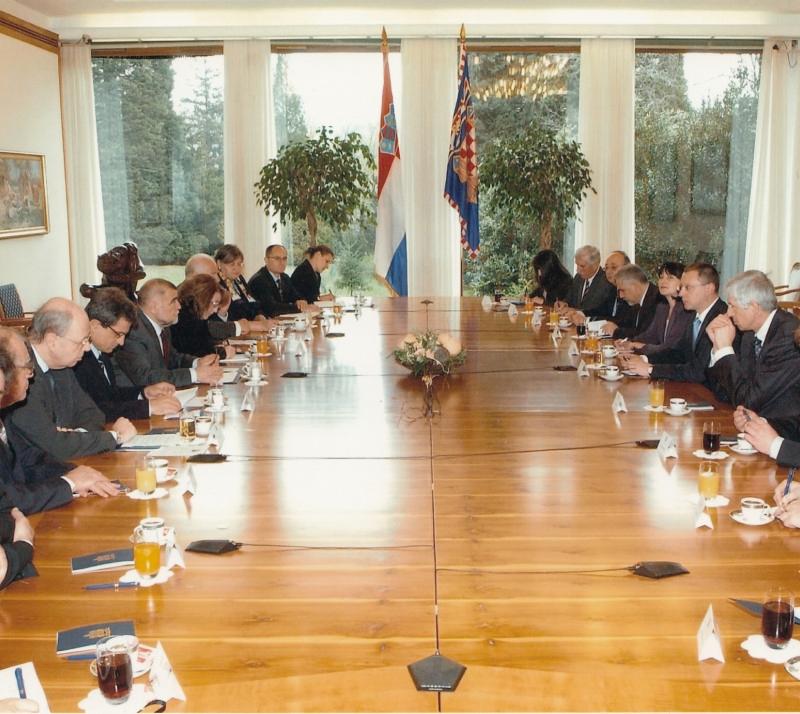 2007 Хърватския президент Стипе Месич-2