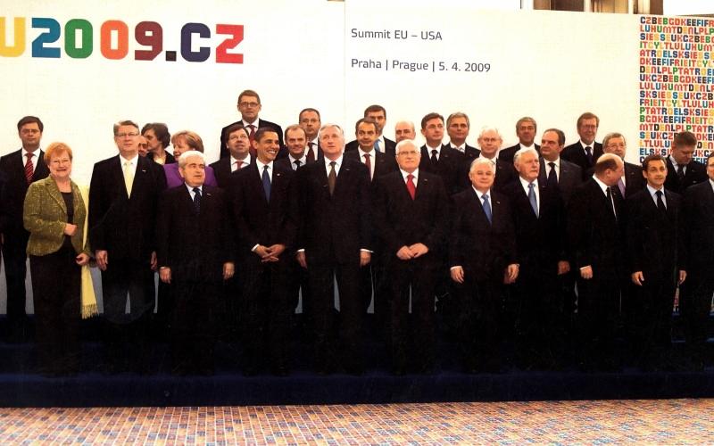 2009 Summit_EU_Usa Прага